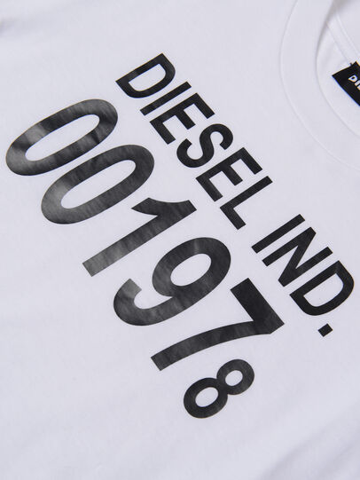 Diesel - TDIEGO001978, Bianco - T-shirts e Tops - Image 3