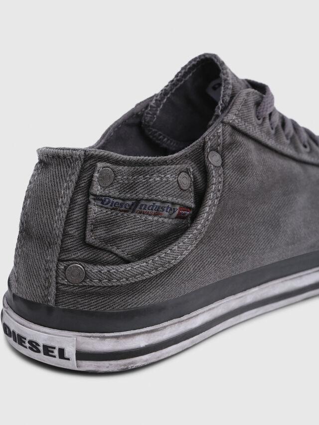 Diesel - EXPOSURE LOW I, Grigio Metallizzato - Sneakers - Image 4