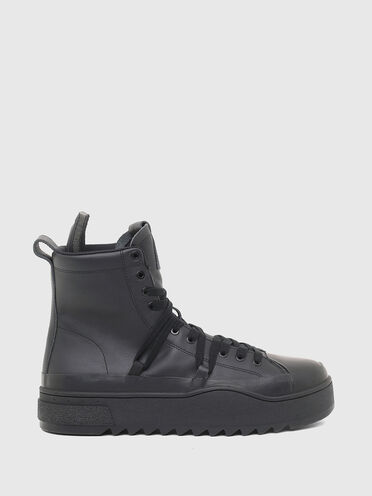 Sneaker ibride in pelle