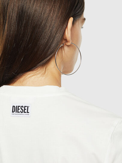 Diesel - T-SILY-YC, Bianco - T-Shirts - Image 3