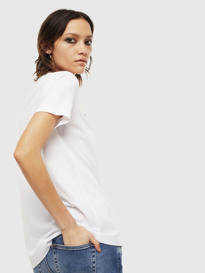 Diesel - T-SILY-S6, Bianco - T-Shirts - Image 2