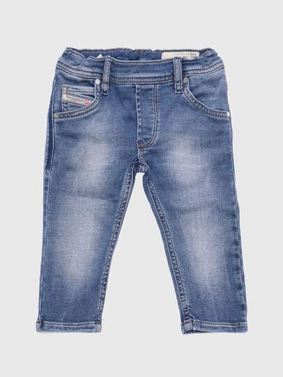Diesel - KROOLEY-B-N JOGGJEANS, Blu Chiaro - Jeans - Image 1