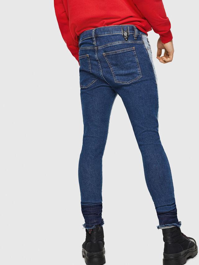 Diesel - D-Istort 085AU, Blu medio - Jeans - Image 2