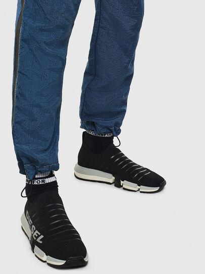 Diesel - H-PADOLA LOW SOCK, Nero - Sneakers - Image 8
