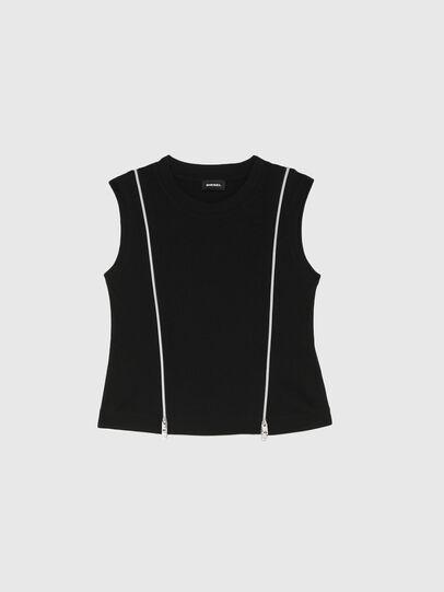 Diesel - TGARTH, Nero - T-shirts e Tops - Image 1