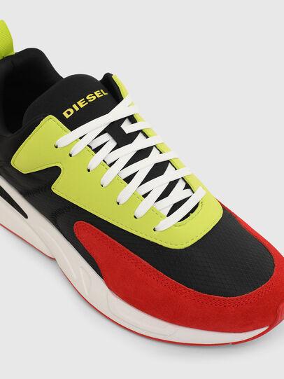 Diesel - S-SERENDIPITY LOW CU, Nero/Rosso - Sneakers - Image 4