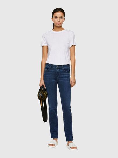 Diesel - Sandy 009QI, Blu Scuro - Jeans - Image 5