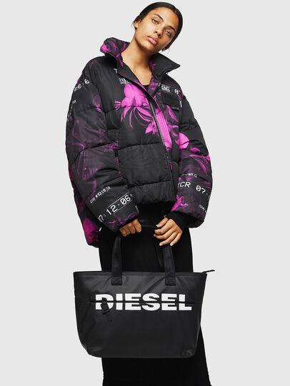 Diesel - F-BOLD SHOPPER II, Nero - Shopper e Borse a Spalla - Image 6