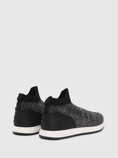 Diesel - SLIP ON 03 LOW SOCK, Nero - Scarpe - Image 3