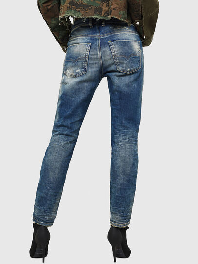 Diesel - Krailey JoggJeans 0870Q, Blu medio - Jeans - Image 2