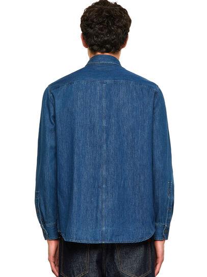Diesel - D-MILLY-SP, Blu medio - Camicie in Denim - Image 2