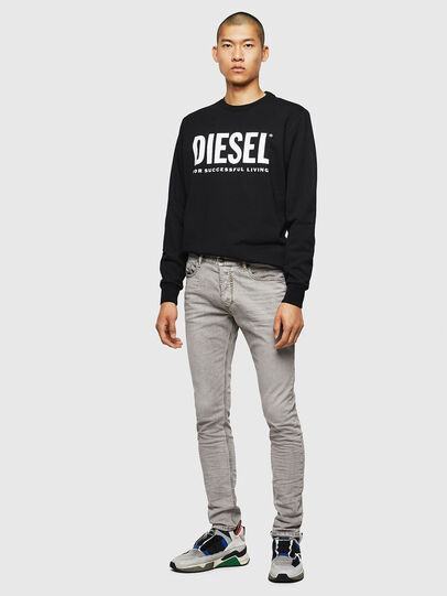 Diesel - Tepphar 069II, Grigio Chiaro - Jeans - Image 5