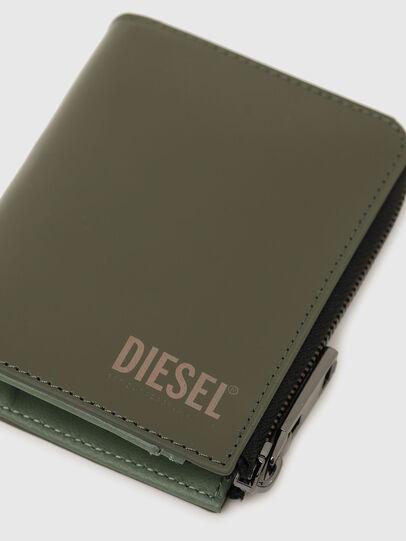 Diesel - L-12 ZIP, Verde Oliva - Portafogli Con Zip - Image 5