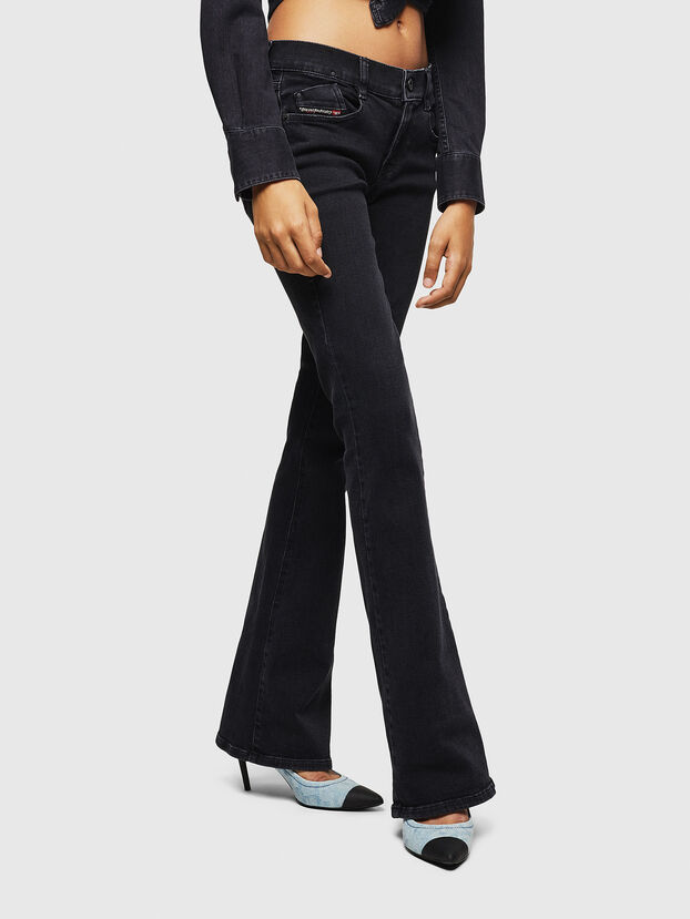 D-Ebbey 0870G, Nero/Grigio scuro - Jeans