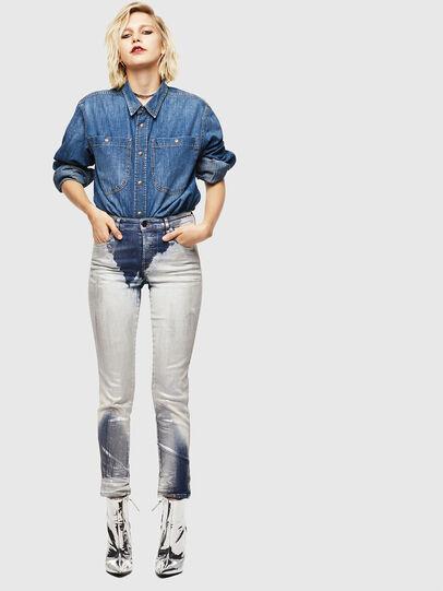 Diesel - Babhila 0094W, Blu medio - Jeans - Image 6