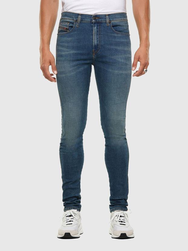 D-Istort 009HC, Blu medio - Jeans