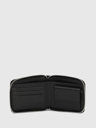 Diesel - ZIPPY HIRESH S, Nero - Portafogli Con Zip - Image 3