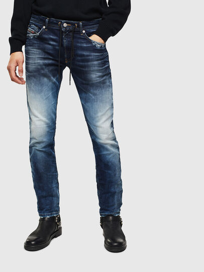 Diesel - Thommer JoggJeans 069KD, Blu Scuro - Jeans - Image 1