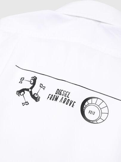 Diesel - CSVENPRINT, Bianco - Camicie - Image 3