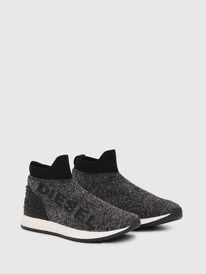 Diesel - SLIP ON 03 LOW SOCK, Nero - Scarpe - Image 2