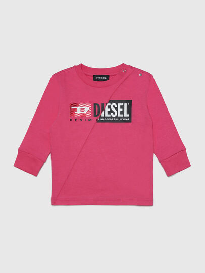 Diesel - TDIEGOCUTYB-FL ML, Rosa - T-shirts e Tops - Image 1