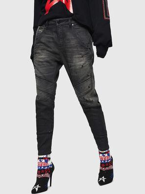 Fayza JoggJeans 069GN, Nero/Grigio scuro - Jeans