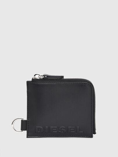 Diesel - L-ZIP CHAIN, Nero - Portafogli Con Zip - Image 1