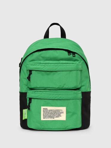 Zaino colour block Green Label