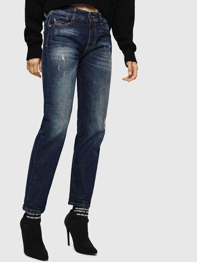 Diesel - D-Rifty 089AL, Blu Scuro - Jeans - Image 6