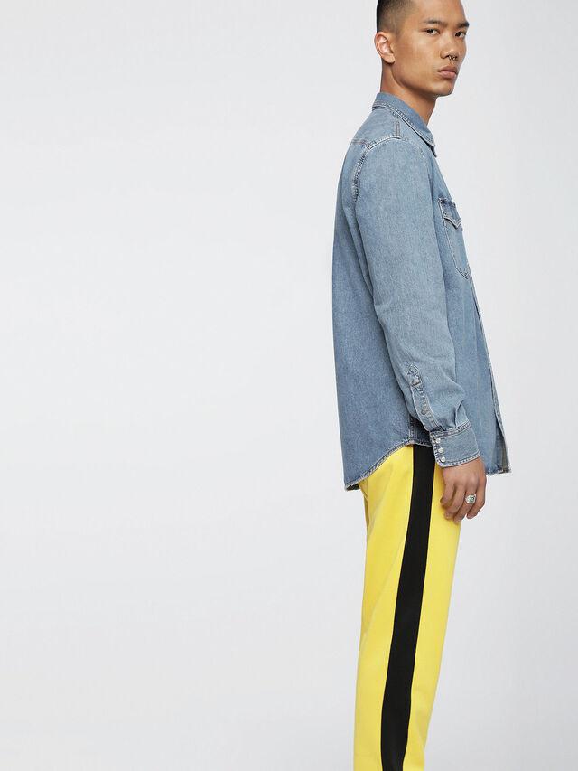 Diesel - D-ROOKE, Blu Jeans - Camicie in Denim - Image 3