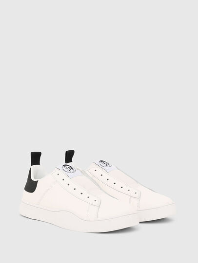 Diesel - S-CLEVER SO, Bianco/Nero - Sneakers - Image 2