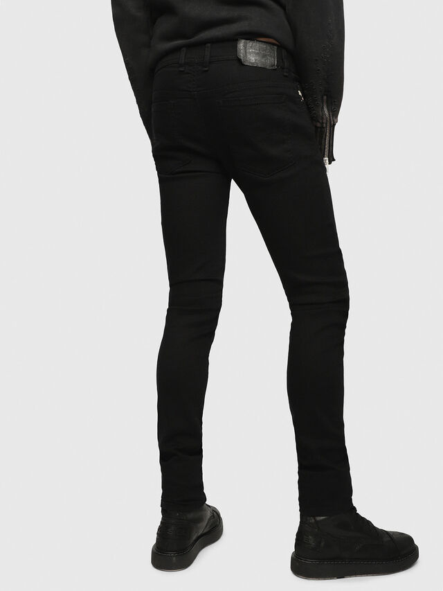 SLEENKER 0886Z, Nero Jeans