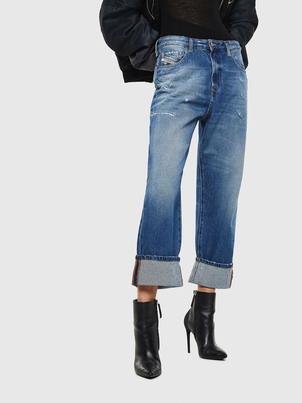 D-Reggy 0097B, Blu medio - Jeans