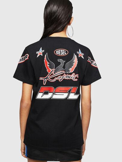 Diesel - ASTARS-T-DIEGO-FL, Nero - T-Shirts - Image 2