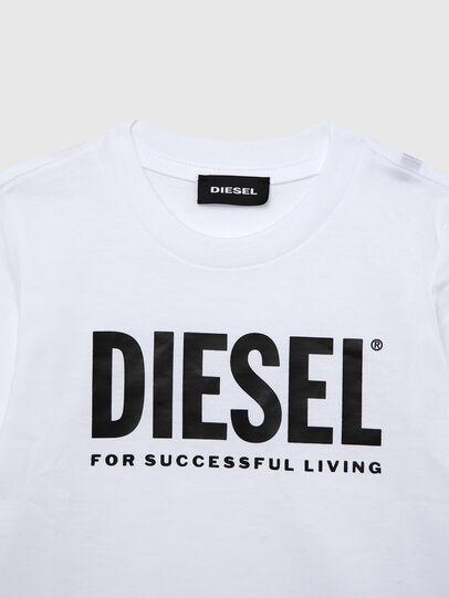 Diesel - TJUSTLOGOB ML-R, Bianco - T-shirts e Tops - Image 3