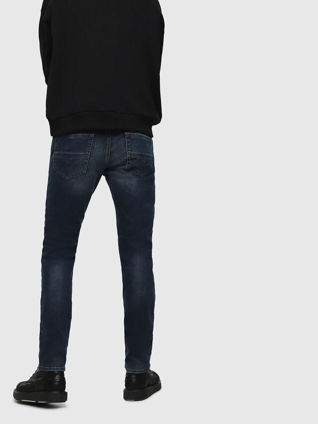 Diesel - Thommer 084BU, Blu Scuro - Jeans - Image 2