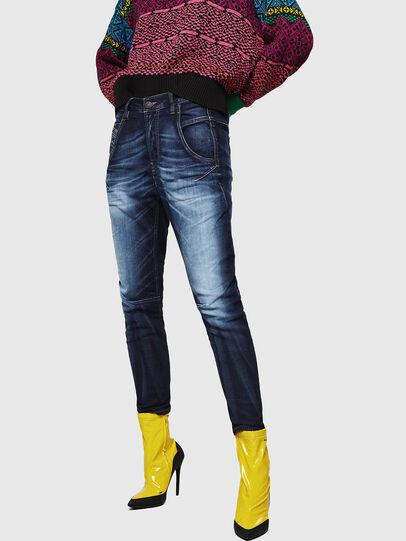 Diesel - Fayza JoggJeans 069IE, Blu Scuro - Jeans - Image 1