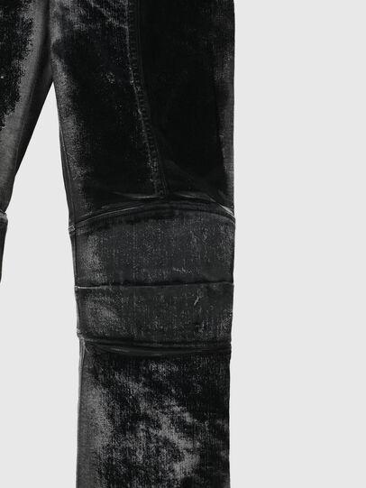 Diesel - TYPE-1007-NE, Nero/Grigio scuro - Jeans - Image 4