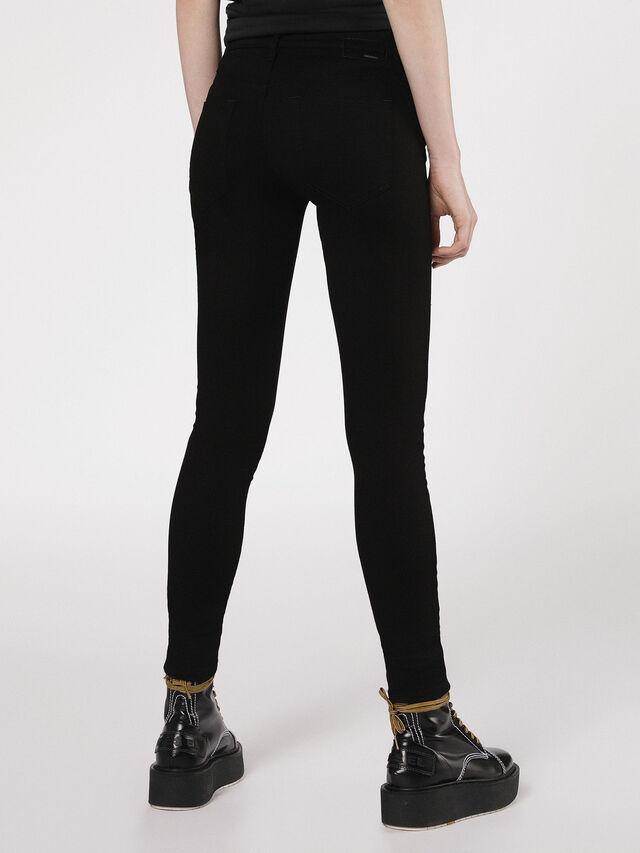 SLANDY 0860S, Nero Jeans