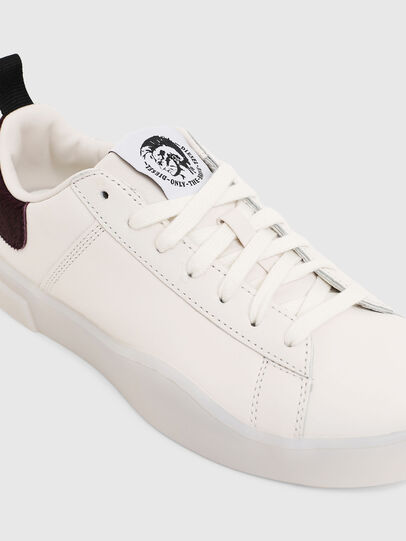 Diesel - S-CLEVER LOW LACE W, Bianco/Rosa - Sneakers - Image 5