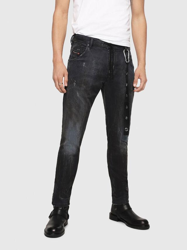 Diesel - Krooley JoggJeans 069IA, Nero Jeans - Jeans - Image 1
