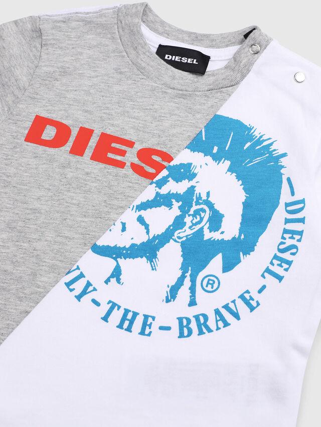 Diesel - TICAB, Bianco/Grigio - T-shirts e Tops - Image 3