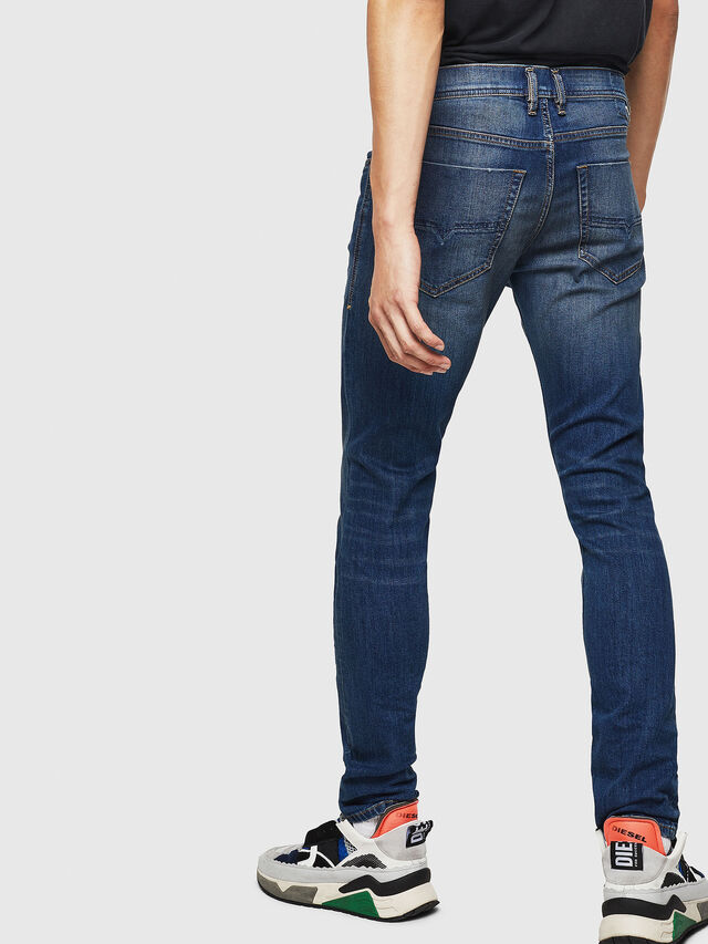 Diesel - Tepphar 087AW, Blu Scuro - Jeans - Image 5