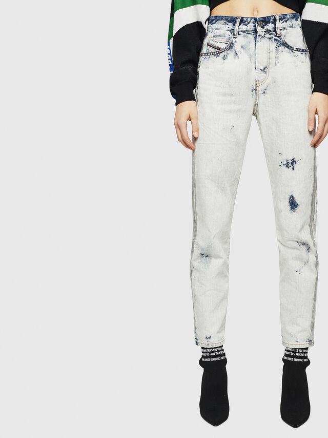Diesel - D-Eiselle 0890Q, Blu Chiaro - Jeans - Image 1