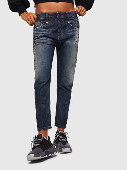 Diesel - Fayza 0096U, Blu Scuro - Jeans - Image 1