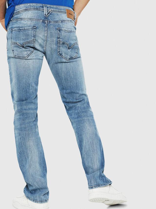 Diesel - Larkee 081AL, Blu Chiaro - Jeans - Image 2