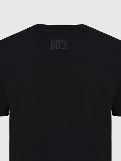 Diesel - T-SILY-E56, Nero - T-Shirts - Image 3
