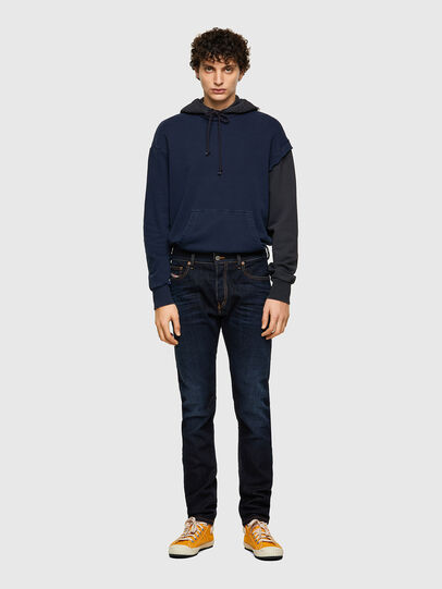 Diesel - D-Luster 009ZS, Blu Scuro - Jeans - Image 5