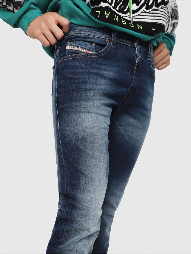 Diesel - Thommer 084GR, Blu Scuro - Jeans - Image 3