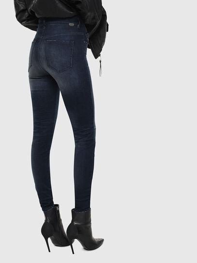 Diesel - Slandy High 0870C, Blu Scuro - Jeans - Image 2